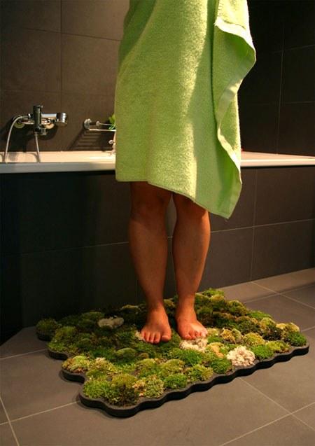 Выбор коврика в ванную без разочарований