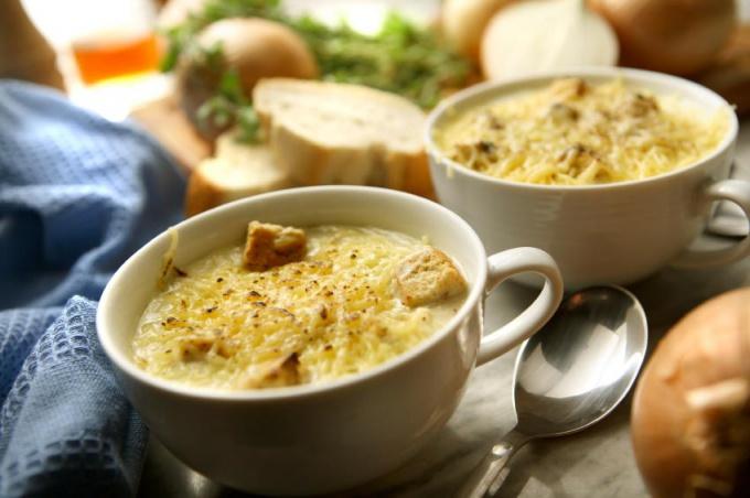 Корсиканский суп с фасолью и овощами