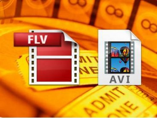 Как конвертировать из flv в avi