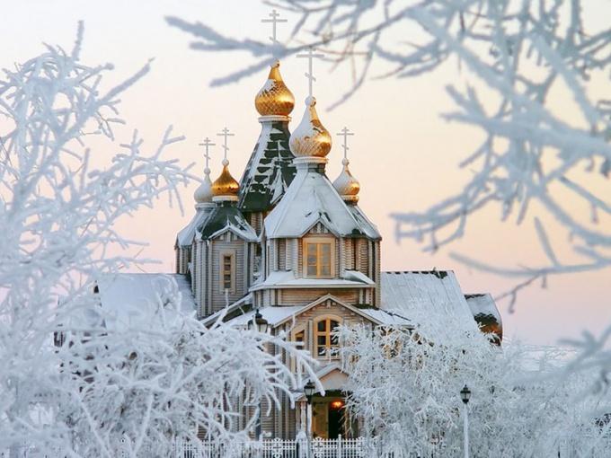Самый большой деревянный православный храм в мире