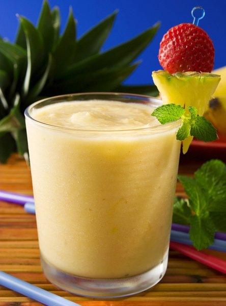 Банановый рецепт для восополнения белка