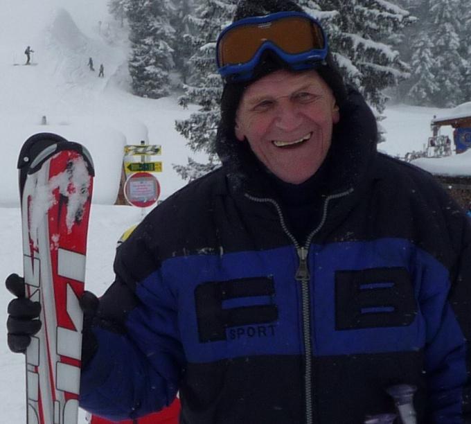 Мой 80-летний свекор. Гармиш, Германия