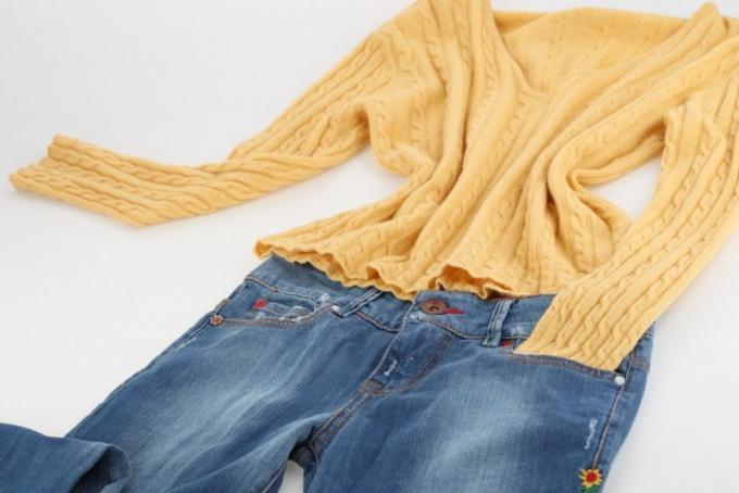 Как уменьшить одежду