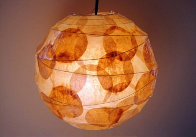 How to make a lamp with your hands