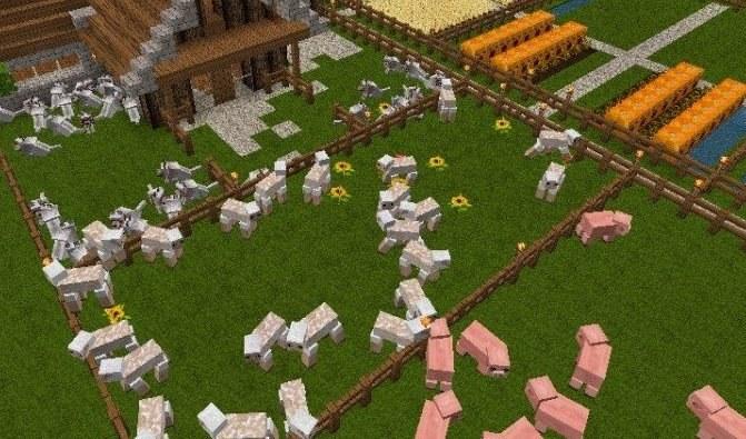 """Фермы в """"Майнкрафт"""" служат источником многих ценных ресурсов"""