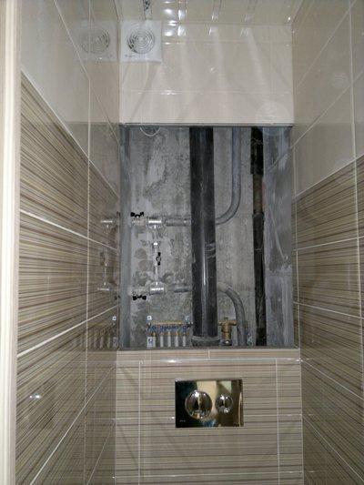 Ремонт ванной комнаты со сломом кабины
