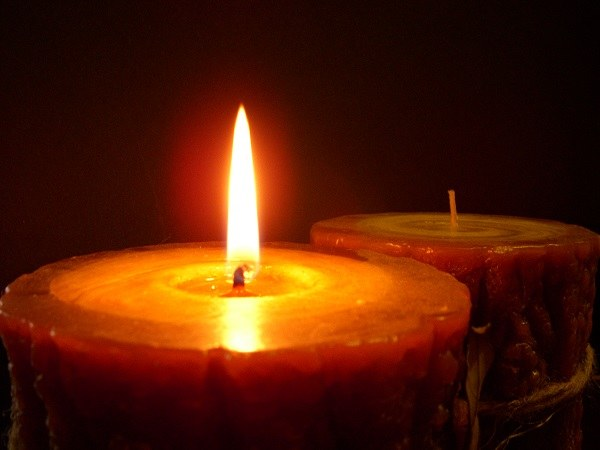 Candle for the diagnosis of damage