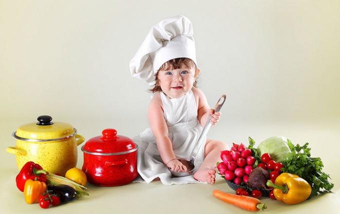 Как готовить детскую еду