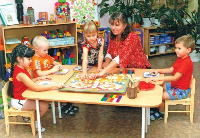 Как работать воспитателем