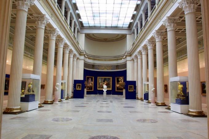 Музей им. Пушкина в Санкт-Петербурге