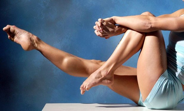 How to pump up the inner side of the calf