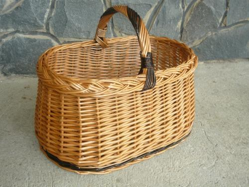 How to weave baskets from willow