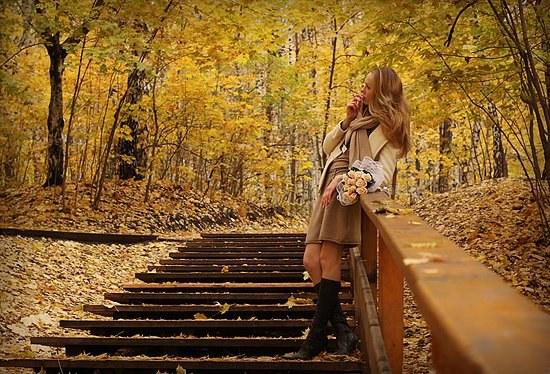 Как стильно одеться осенью