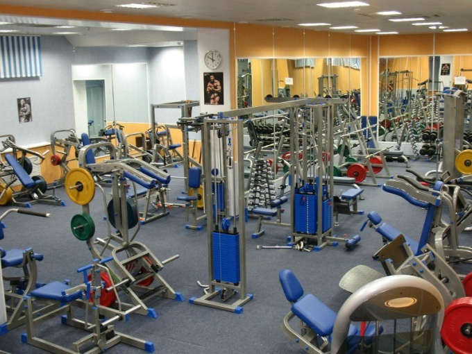 For weight use a full range of exercise equipment