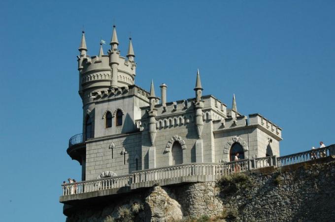 Swallow's nest in Crimea