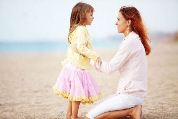Как надо говорить с ребенком