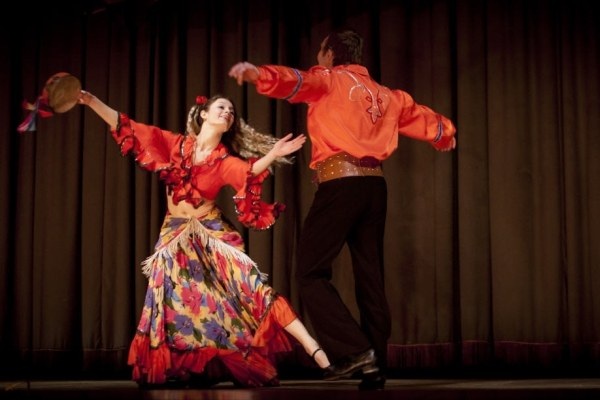 Как танцуют цыгане