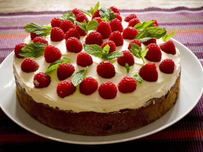Как печь красивые торты