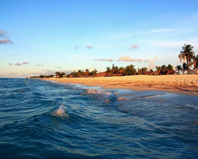 Самый известный пляж Кубы - Варадеро