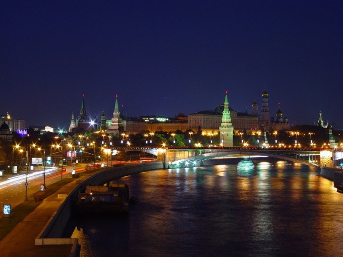 Where to go in Moscow in the evening