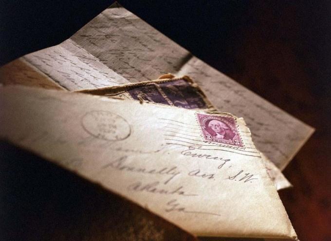 Как написать письмо моей семье