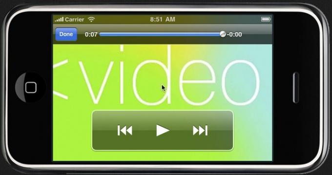 Как закачать видео для iPhone