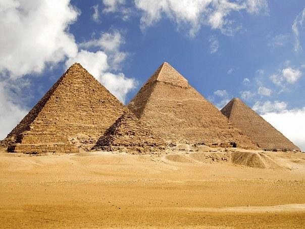 Четырехугольные пирамиды