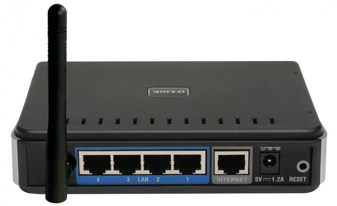 Как настроить локальную сеть на роутере D-link Dir 300