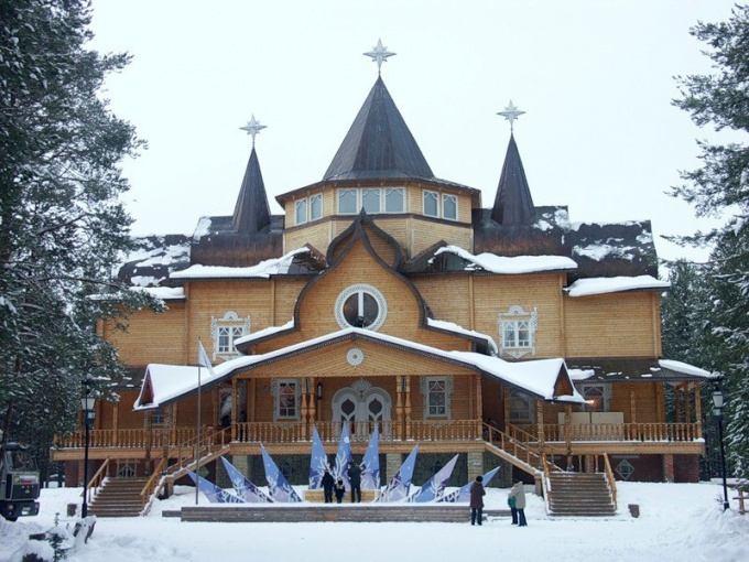 От резиденции Деда Мороза дети просто в восторге