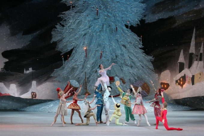 Балет «Щелкунчик» идет в Большом театре и 31 декабря