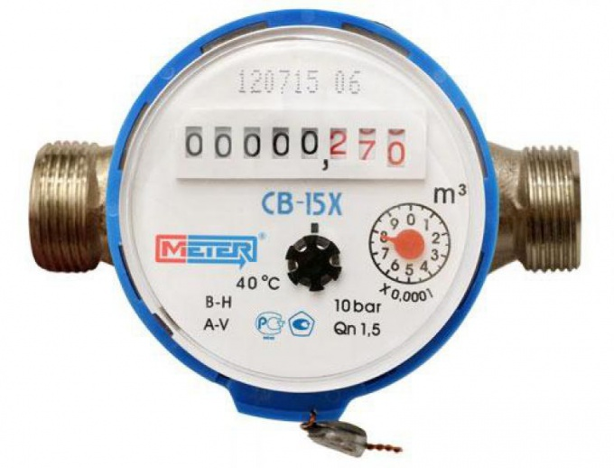 How to install the water meter yourself