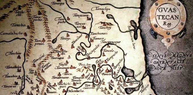 Для игры можно сделать антуражную карту в старинном стиле