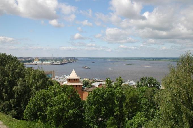 Почему Нижний Новгород Нижний