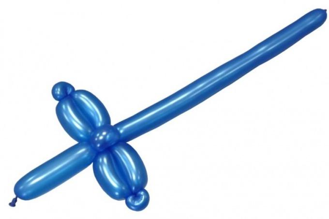 Как сделать меч из шариков