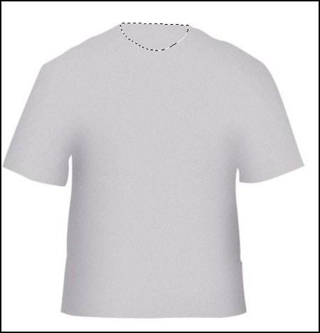 Как сделать футболку в фотошопе