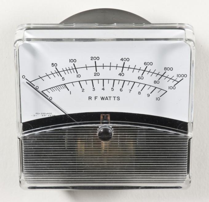 Прибор для измерения электрической мощности - ваттметр