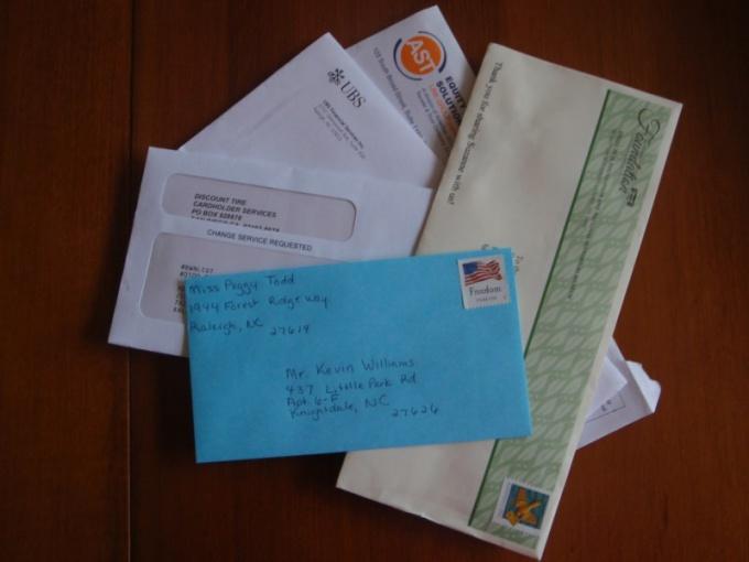 Как печатать адрес  на конверте