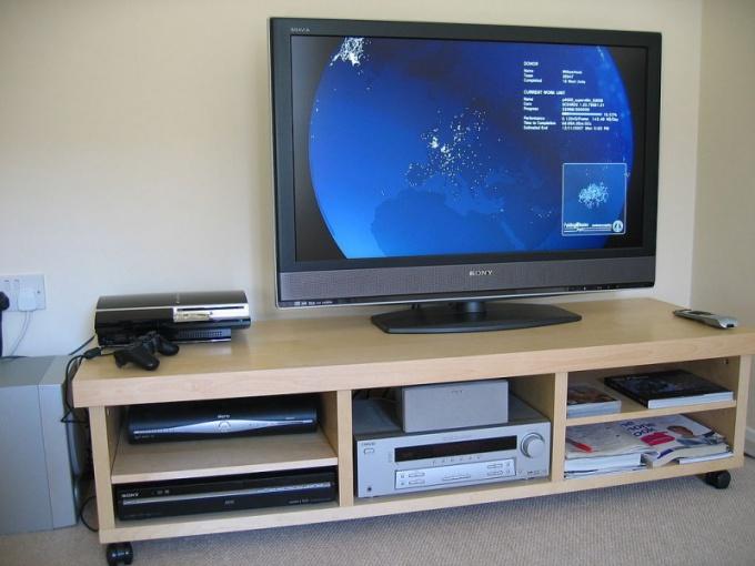 Как монитор настроить под телевизор