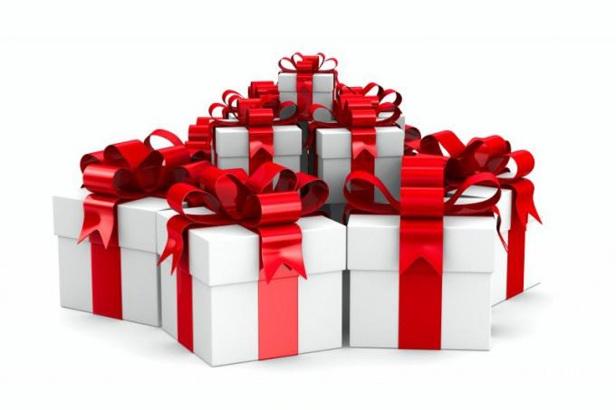 А какой подарок ваш?