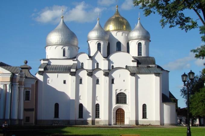Новгород - город на Северо-Западе России