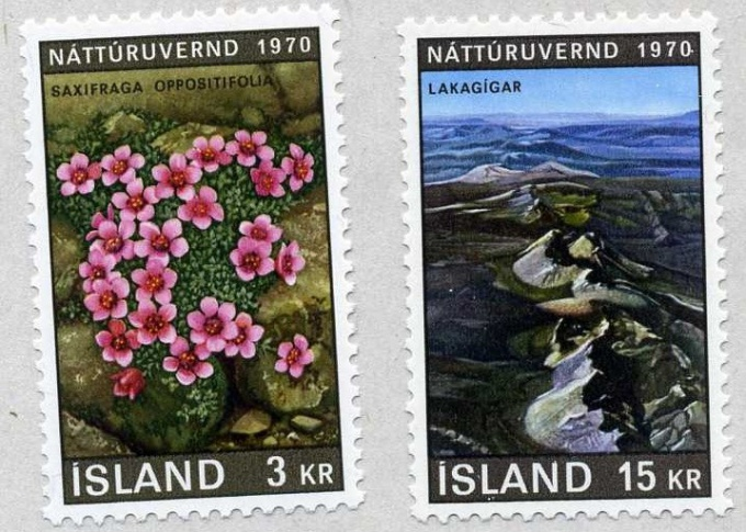 Марки Исландии
