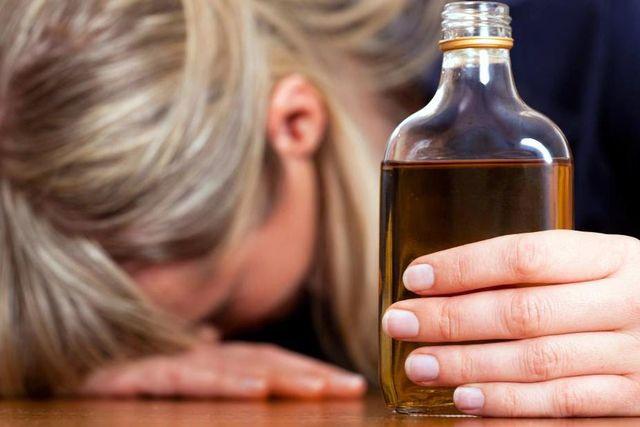 Если ваша женщина алкоголичка