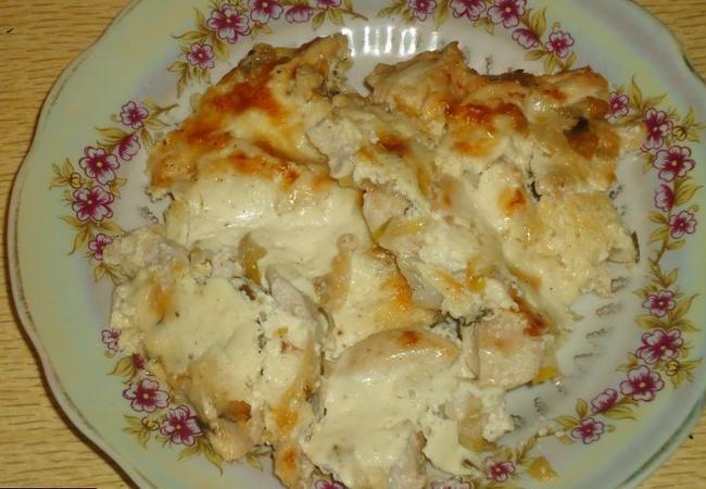 Как приготовить курицу в молочном соусе