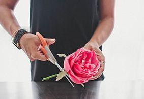 Как сделать повязку с цветами