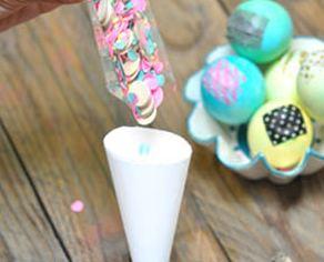 Как сделать необычное конфетти