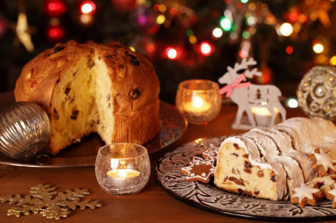 Штоллен - рождественская коврижа