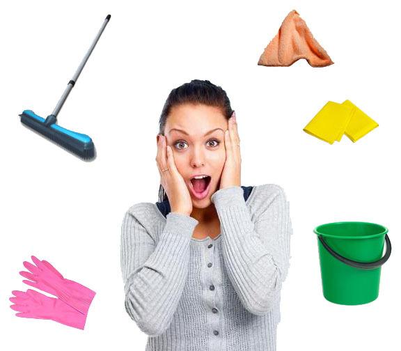 Правила уборки- залог чистоты