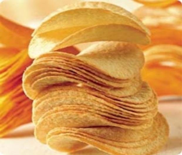 Приготовленные в микроволновке чипсы -  почти диетическое блюдо