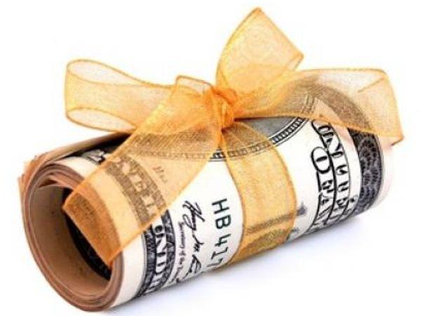 подарить деньги оригинально