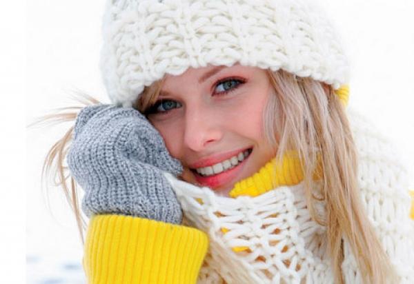 Уход за лицом зимой